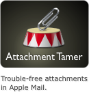 Trouble-free attachments in Apple Mail